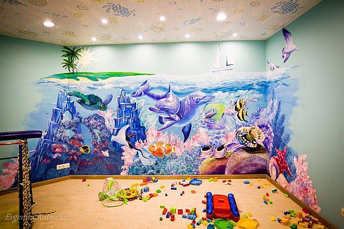 Детская комната — Роспись акрилом