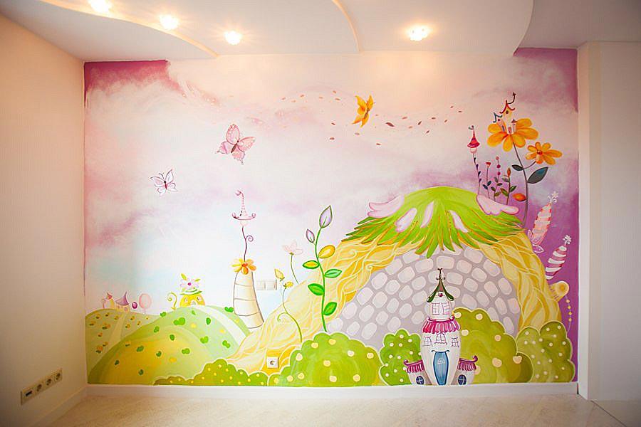 Детская комната — Роспись